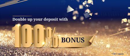İlk Para Yatırmanızda Binarium Bonusu -% 100 Bonus