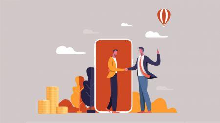 So treten Sie dem Partnerprogramm in Binary.com bei
