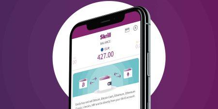 Deposit Funds in Binomo via Skrill