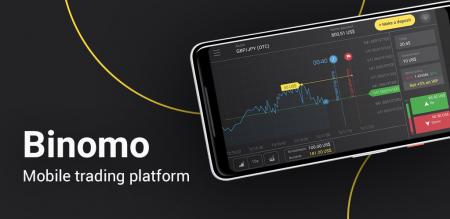 So verwenden Sie die Binomo-App auf Android-Telefonen
