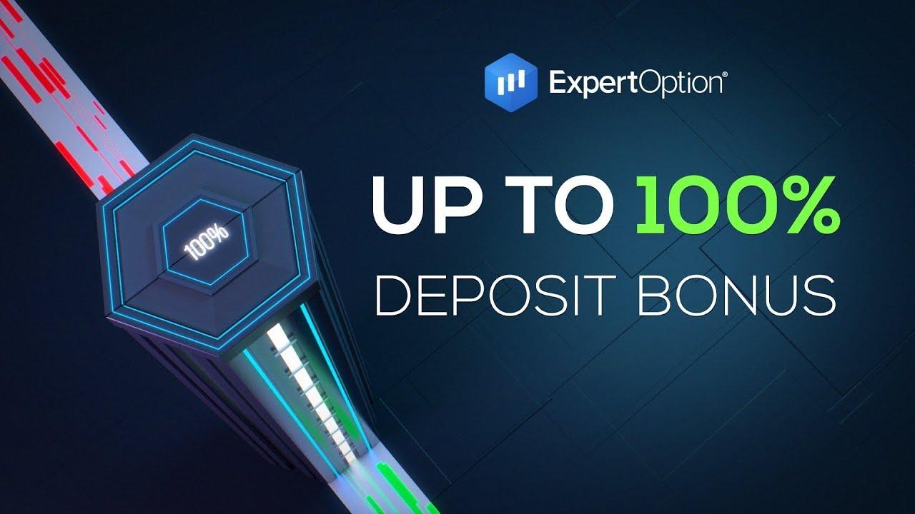 ExpertOption Welcome Promotion - 100% Deposit Bonus Up to $500