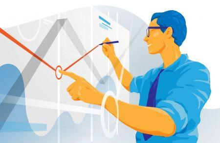 Как использовать линии тренда для торговли на откатах в ExpertOption?