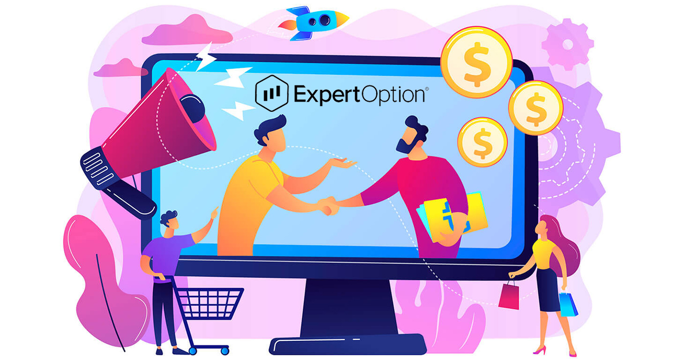 How to join Affiliate Program and become a Partner in ExpertOption
