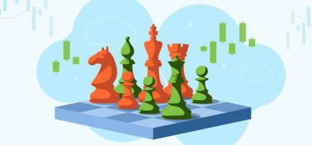 Gambit strategy: balance between risk and gain