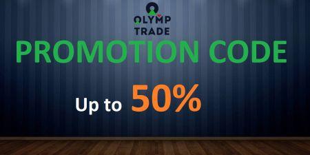 Olymp Trade Promo-Code - Bis zu 50% Bonus