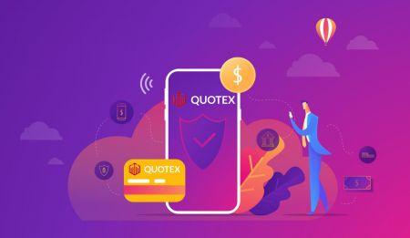 How to Deposit Money in Quotex