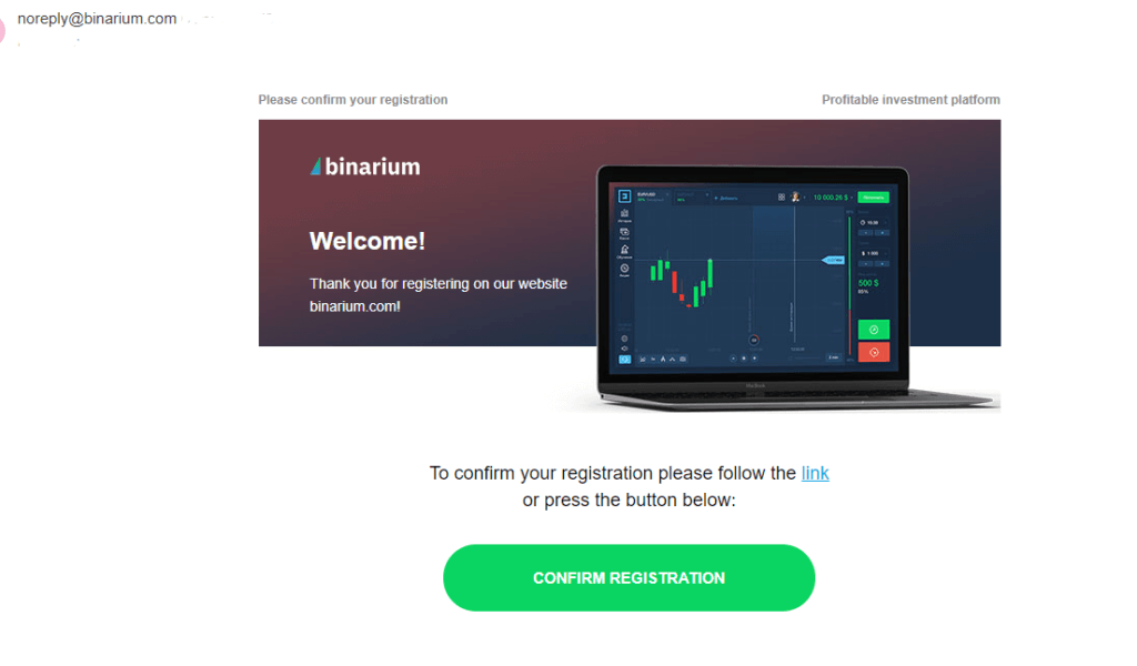 How to Register and Trade Binary Option at Binarium