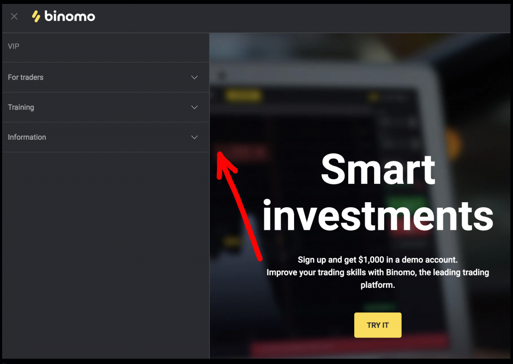 How to Start Trading at Binomo for Beginners