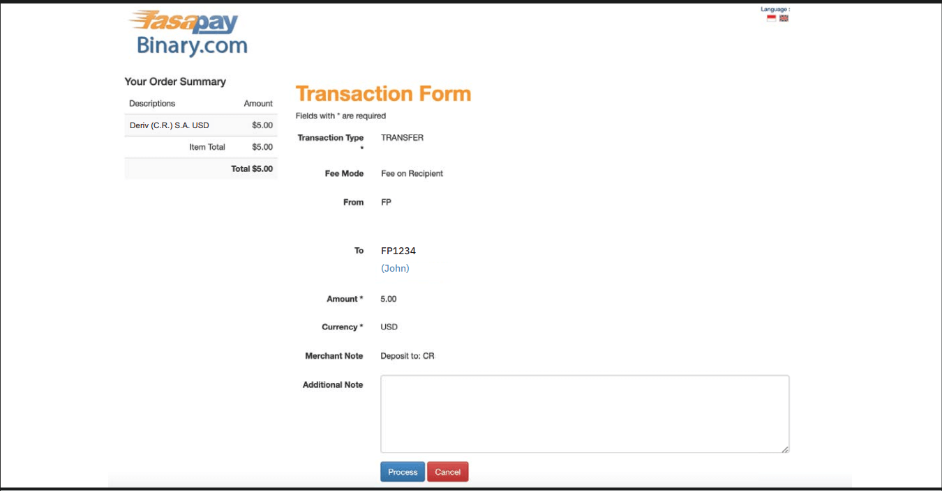 How to Withdraw and Make a Deposit Money in Deriv
