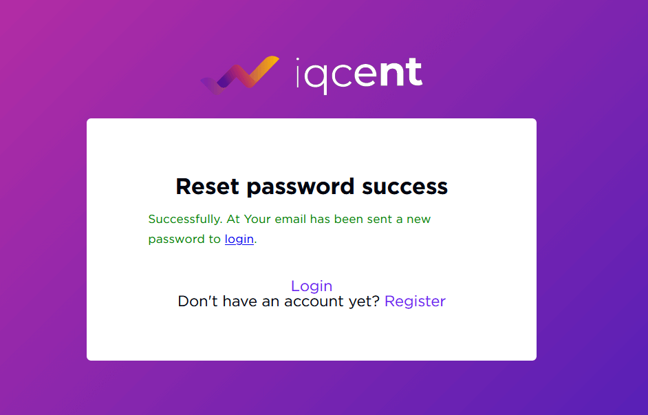 How to Open Account and Sign in to IQcent
