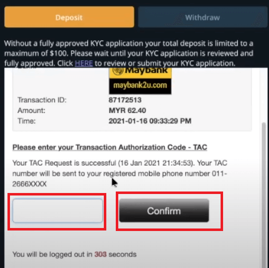 How to Withdraw and Make a Deposit Money in Spectre.ai